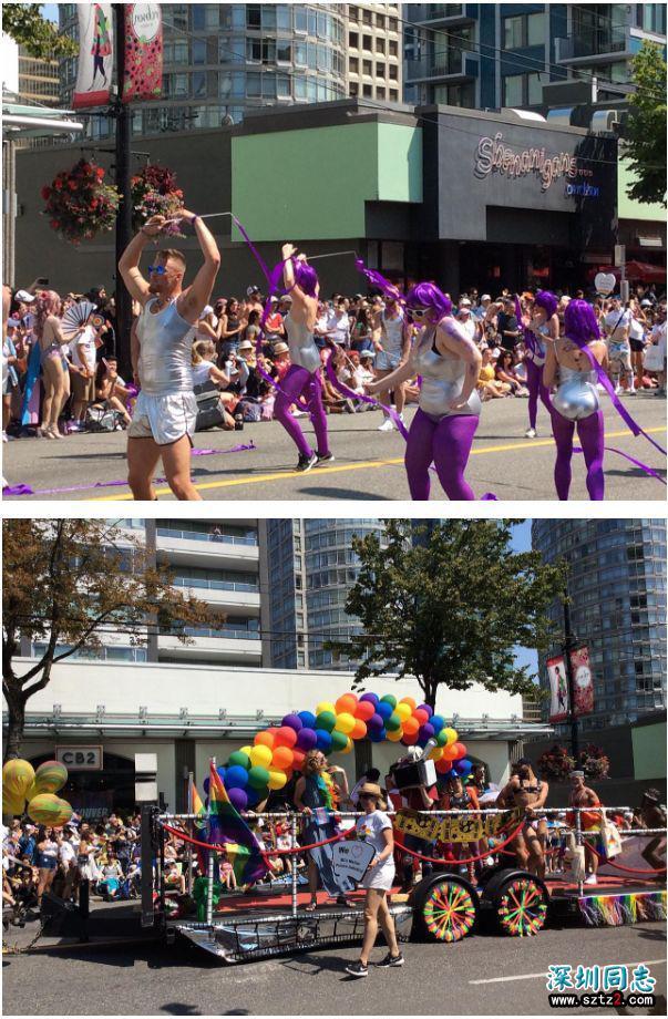 加拿大最大尺度肉体狂欢!同性恋游行!大开眼界!