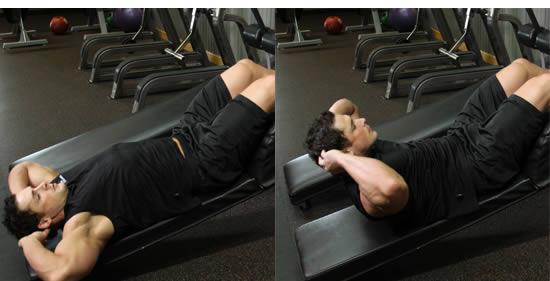 4个动作,教你练出好看腹肌,赶紧练起来吧