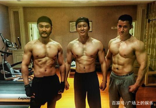 明星健身:吴京居然才排第三,第一位的居然是他!