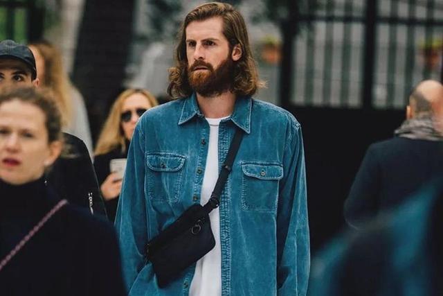 换季这样穿牛仔衬衫,气质甩路人几条街