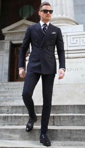 男人拥有大肚腩,穿了西装超难看?其实显瘦超简单
