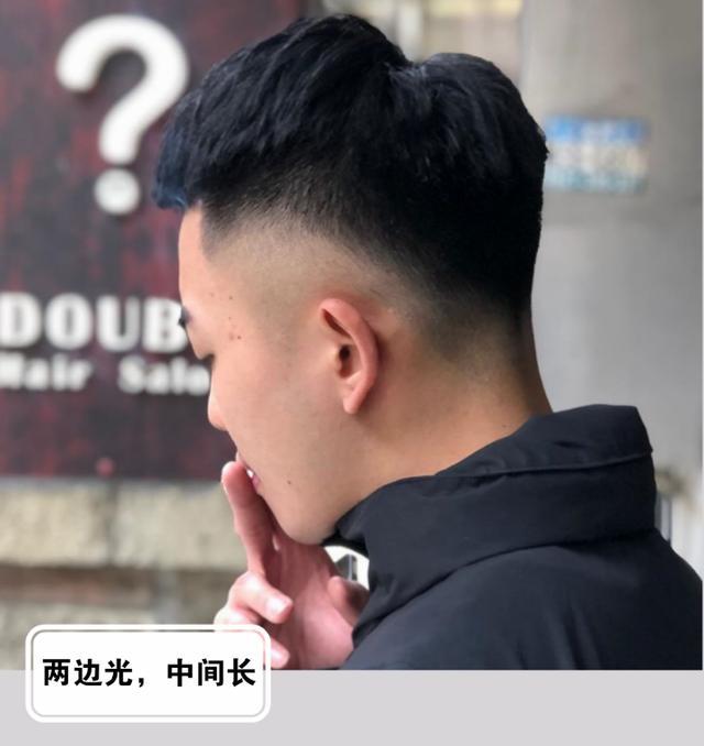 """男生""""两边剃光,中间留长""""发型,春天就要干净又帅气"""