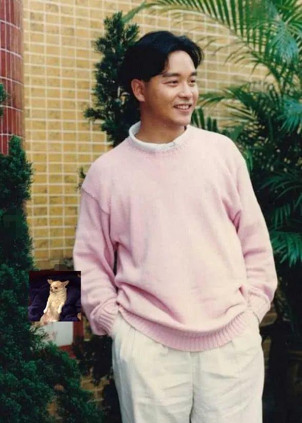 张国荣穿衣造型30年前的风格,在当今依旧是潮流