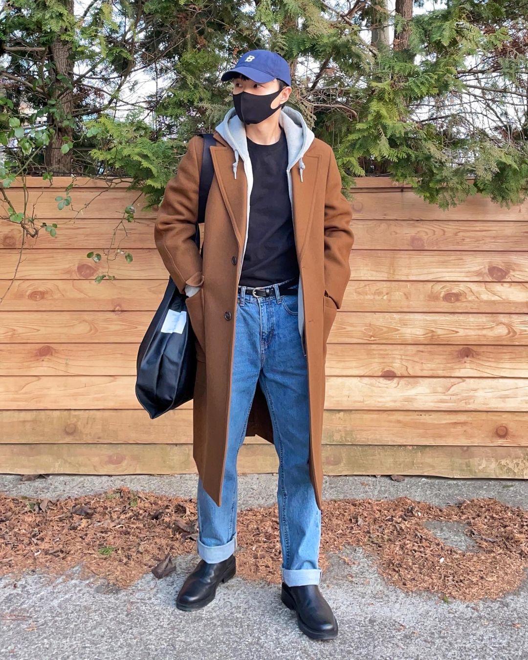 """男生穿""""卫衣+外套""""真的帅气,6套不同潮流搭配,塑造多样气质"""